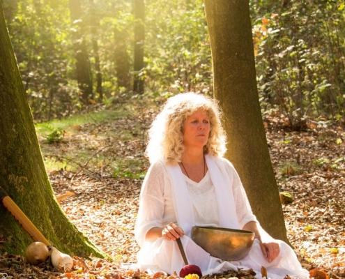 sjamanistische meditatie in de natuur